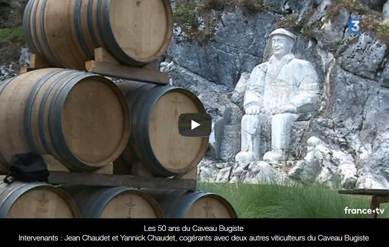 Les 50 ans du Caveau Bugiste sur France 3 Rhône Alpes