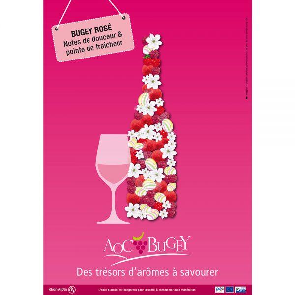 Bugey rosé, des trésors d'arômes à savourer