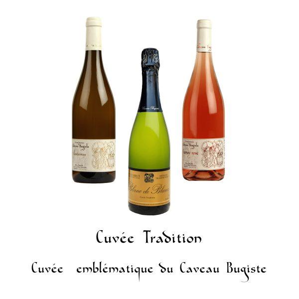 Cuvée Tradition, cuvée emblématique du Caveau Bugiste