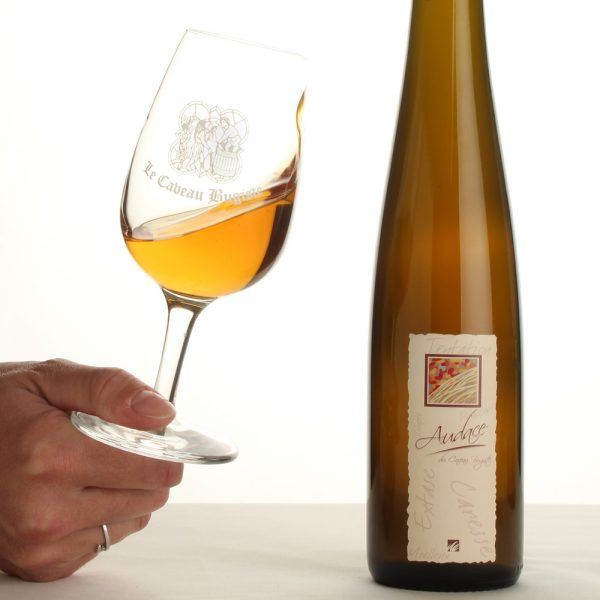 Dégustation de l'Audace, vin liquoreux