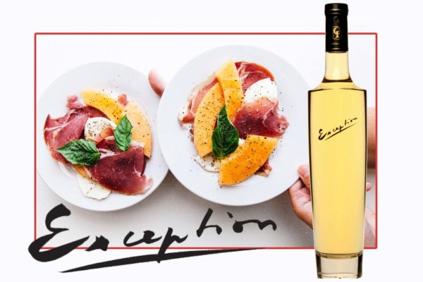 Accord mets et vin Chardonnay exception & melon