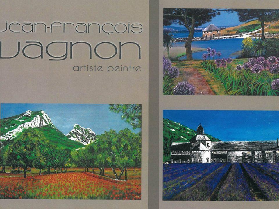 Exposition de peinture de Jean-François Vagnon