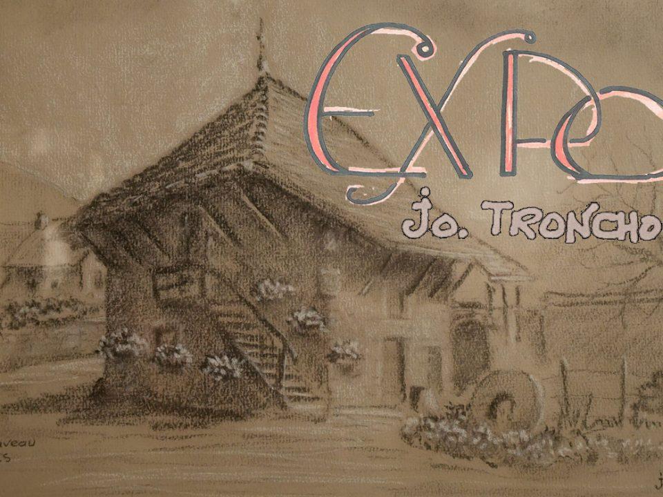 Exposition de peintures de Jo Tronchon