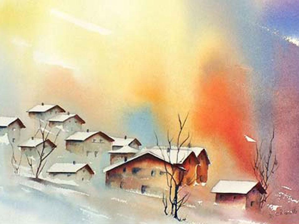Exposition d'aquarelles de Danièle Chiarello