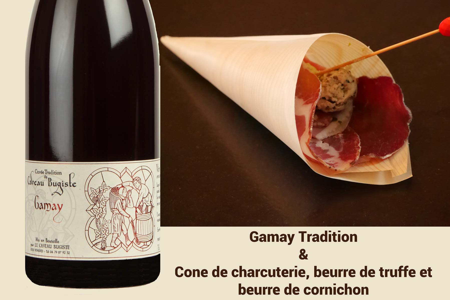 Gamay et charcuterie