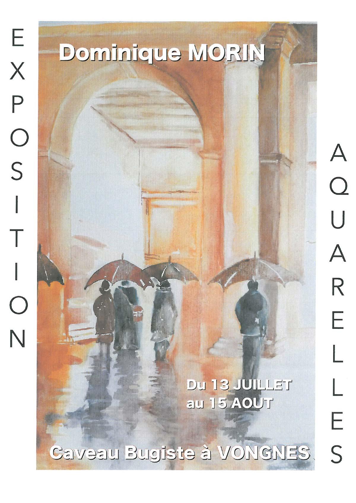 Exposition de Dominique Morin