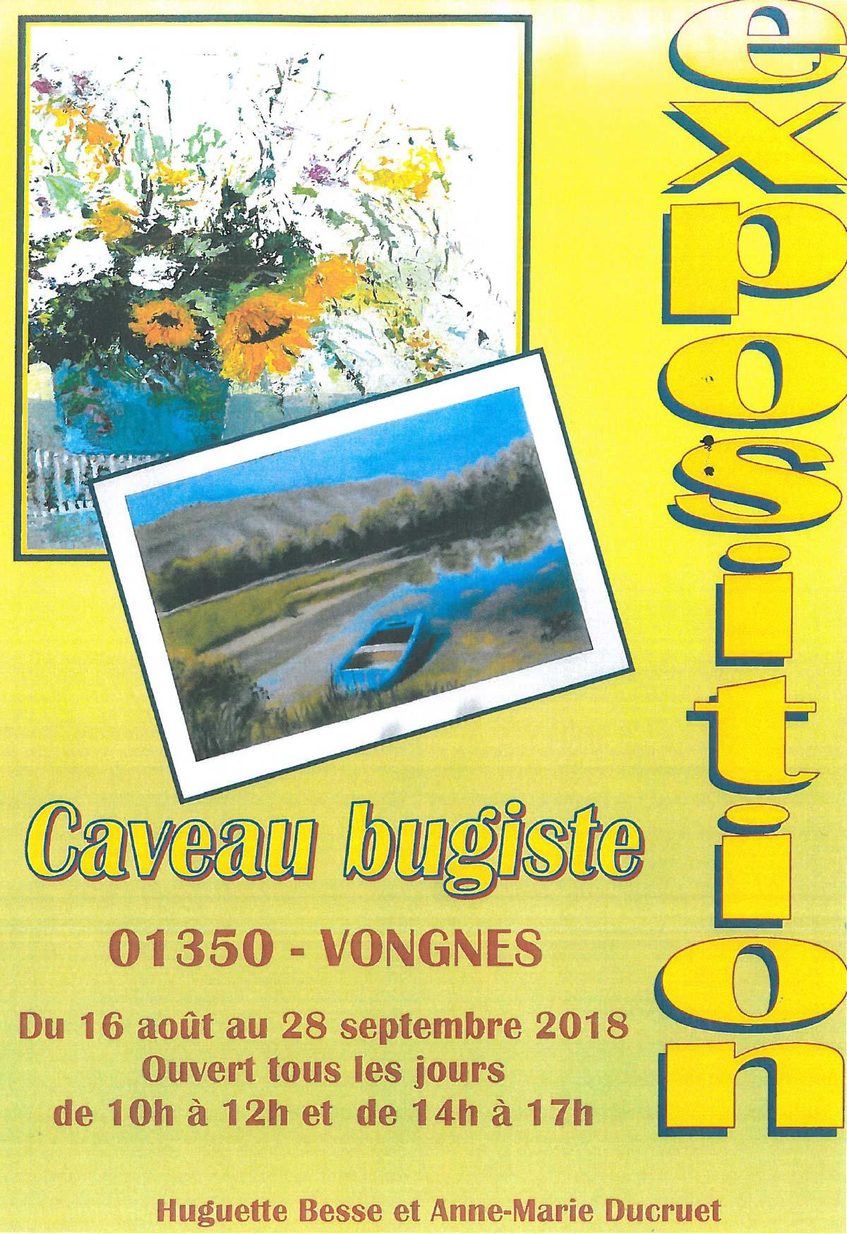 Exposition de Huguette Besse et Anne-Marie Ducruet