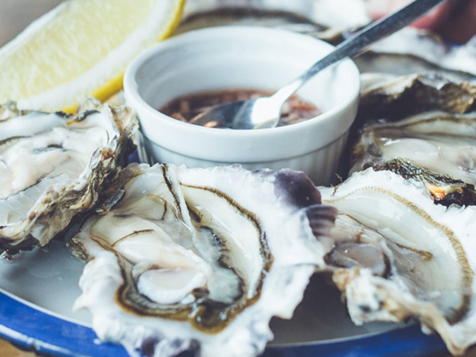 Vente d'huîtres