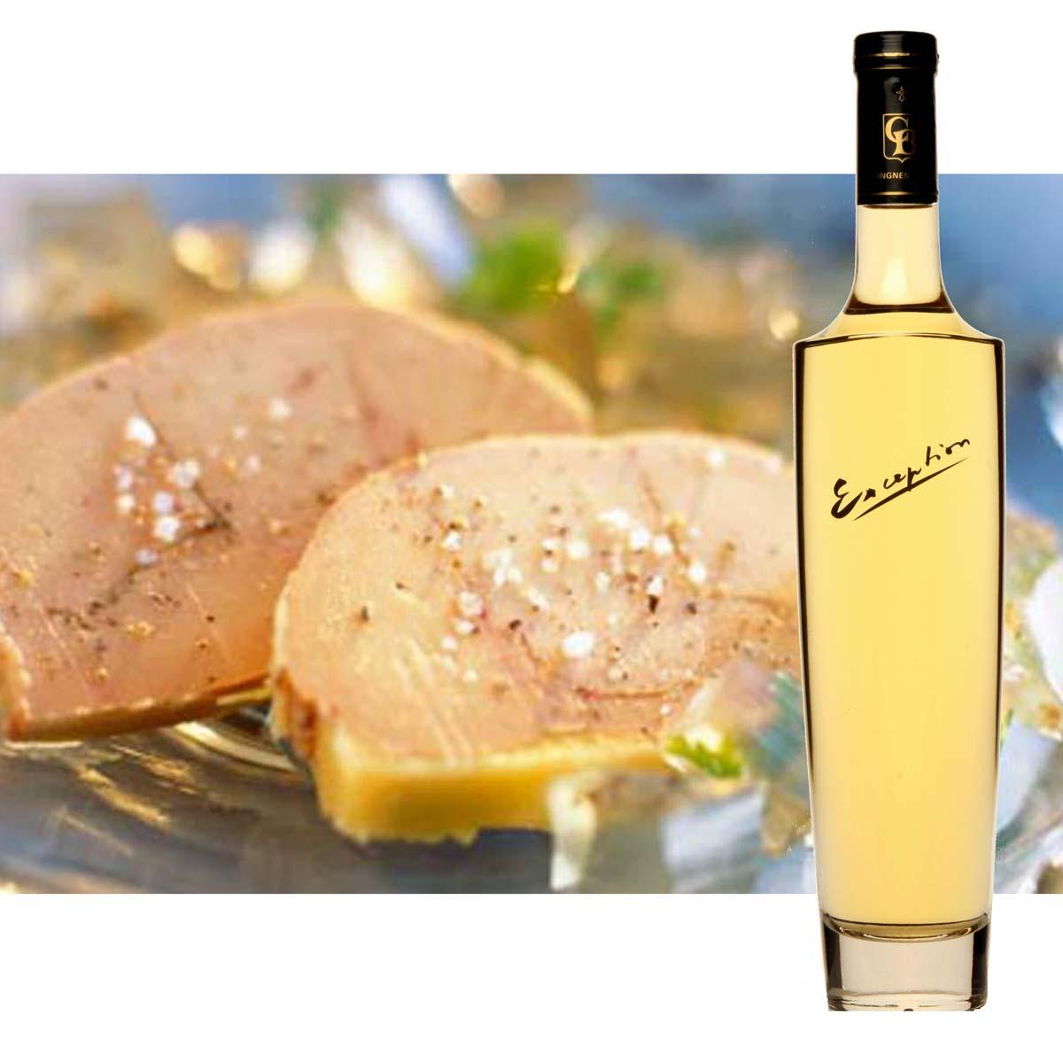 Chardonnay Exception et foie gras