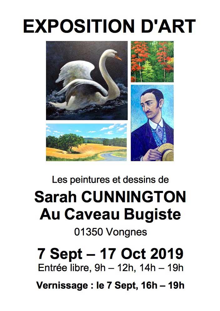 Exposition de Sarah Cunnington