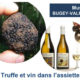 Dévernissage au Musée du Bugey - Truffe et vin dans l'assiette