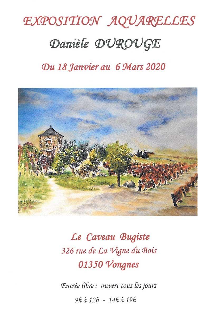 Exposition de Danièle Durouge