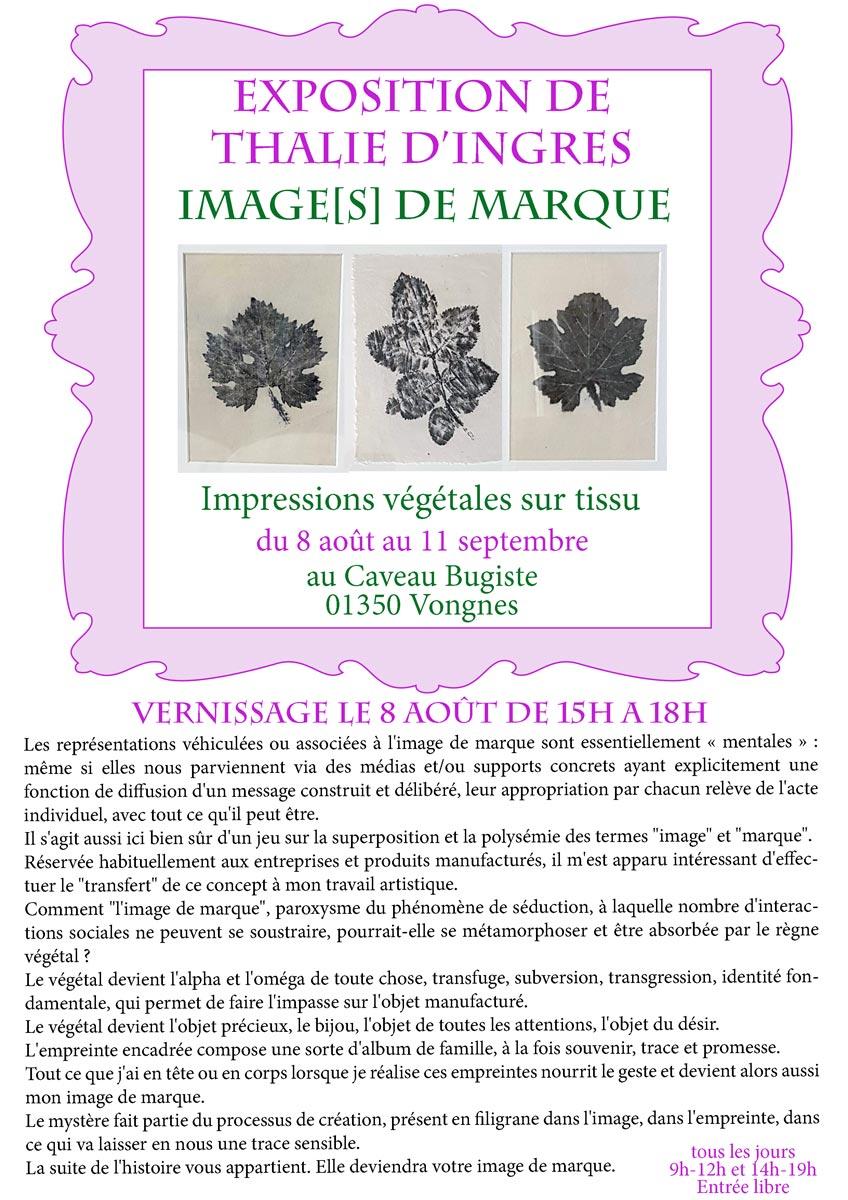 Exposition de Thalie d'Ingres