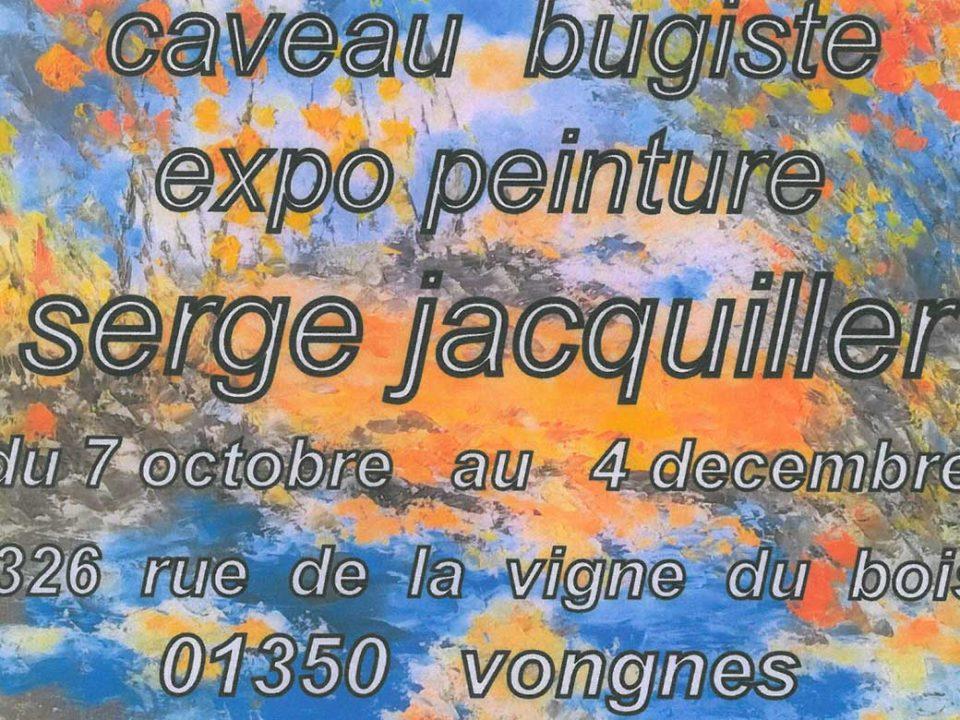 Exposition de Serge Jacquiller